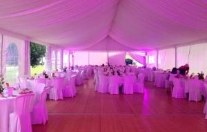 Éclairages salle de mariage