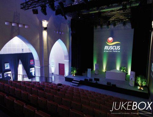 Éclairage podium et salle séminaire