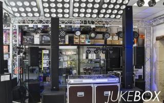 Le magasin Juke Box situé place Pélisson à Castres.