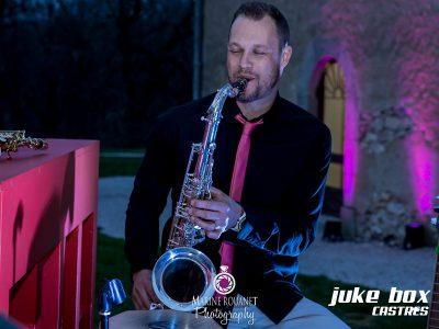 Saxophoniste mariage Le Castelet