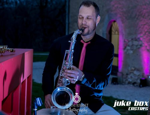 Saxophoniste mariage Le Castelet – Marine Rouanet Photography