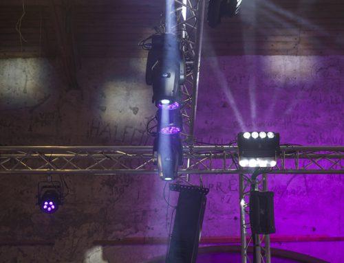 Éclairage salle foire de Castres – Frantz Meyers photographe