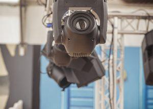 Projecteur asservie foire de Castres