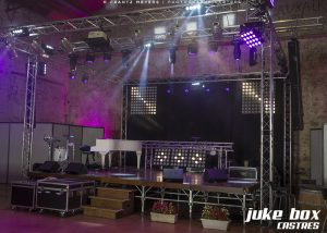 Scène concert foire de Castres